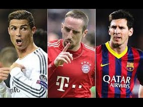 Ballon d'Or 2013 - Messi vs Ronaldo vs Ribery