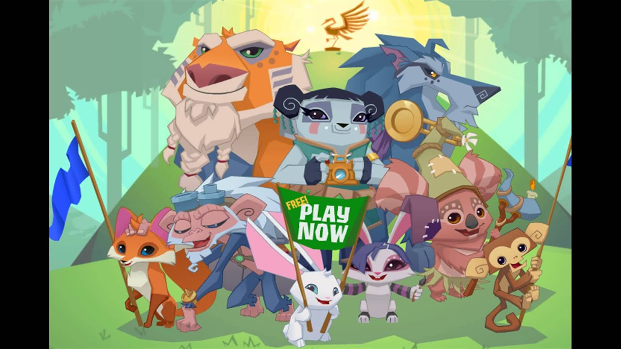 Animal jam horses only party music youtube