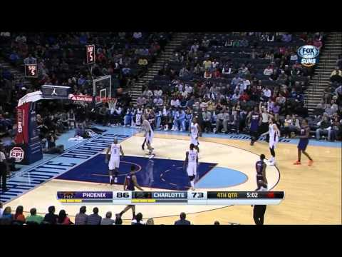Channing Frye Full Highlights vs. Bobcats 11/22/13 (20 Points, 5 Threes)