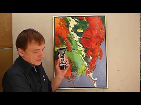 BARWY PODSTAWOWE i POCHODNE - Od czego zacząć malowanie obrazów - MALARSTWO AKRYLOWE
