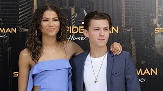 Zendaya & Tom Holland REACT To Dating Rumors