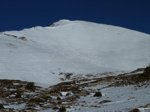 Ascensión y descenso con esquís del Tuc de Baciver