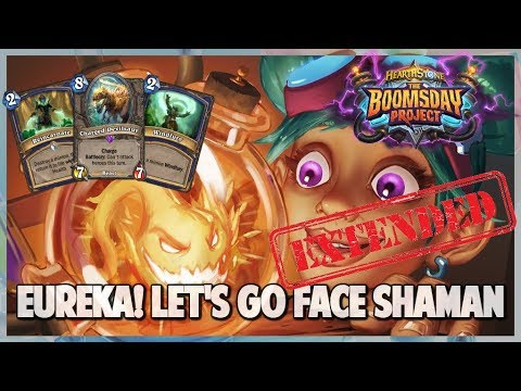 Eureka! Let's Go Face Shaman | Extended Gameplay | Hearthstone | Boomsday Project