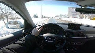 2014 Audi Q3 2.0 TFSI Quattro S-tronic POV Test Drive. MegaRetr