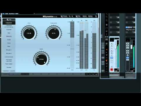 Multiparameters & custom active presets in MeldaProduction audio effects