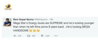 Ram Gopal Varma Tweets On Megastar Chiranjeevi's Film Khai..