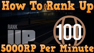 """""""GTA 5 Online"""" How To Get 5000 RP Per Minute ( """"Grand"""
