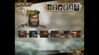 Samurai Warriors 2 - Xtreme Legends(PS2) All Characters,Weapons and Items (No Cheat Used)
