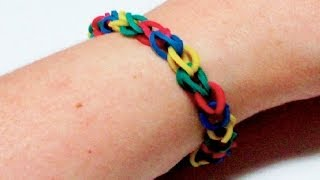 How To Make A Rubber Band Bracelet In Just 5 Minutes