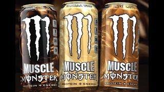 Energy Drank - Muscle Monster Chocolate vs. Red Rain Redeem