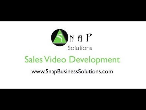 sales video development
