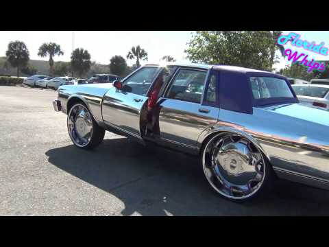 Chrome Box Chevy on 28's - Florida Whips - 1080p HD