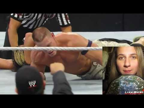 WWE Smackdown 12/27/13  John Cena vs Seth Rollins Live Commentary