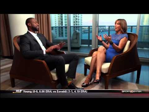 April 18, 2014 - ESPN - Miami Heat's Dwyane Wade Interview (NBA Face to Face with Hannah Storm)