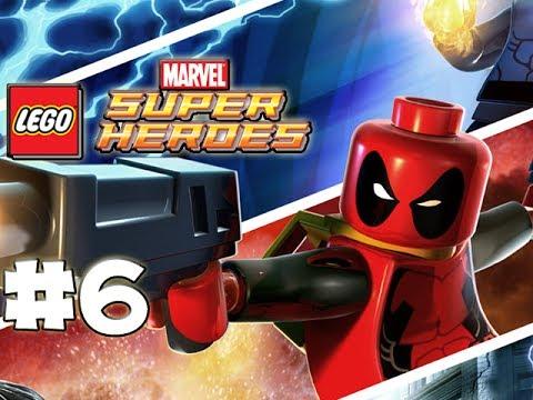 LEGO Marvel Superheroes - LEGO BRICK ADVENTURES - Part 6 - Rhino! (HD Gameplay Walkthrough)