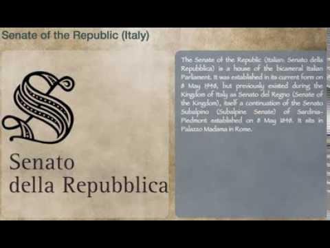 Senate of the Republic (Italy)