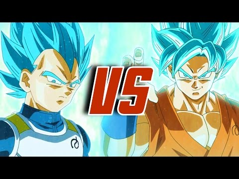 SON GOKU VS VEGETA | DRAGON BALL RAP BATTLE