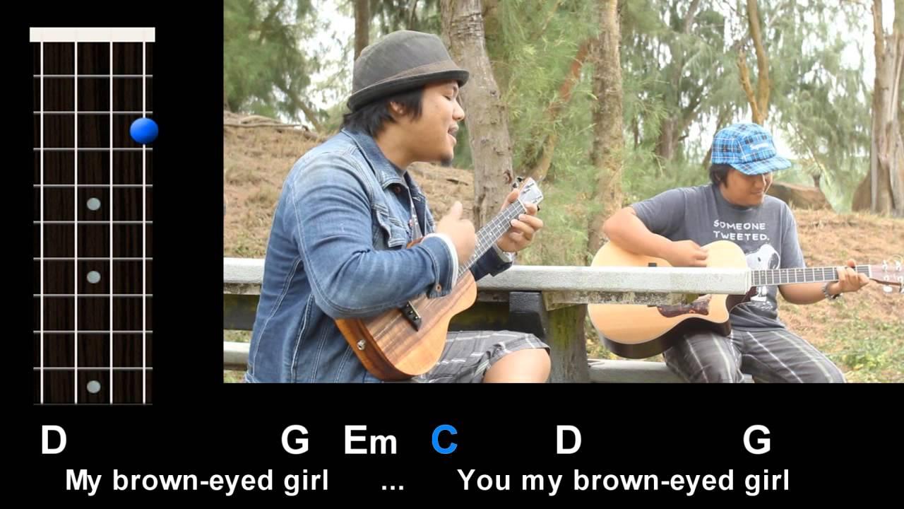u0026quot;Brown Eyed Girlu0026quot; (Van Morrison) Ukulele Play-Along! - YouTube