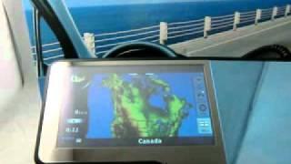 "4.3"" GPS Rear View Mirror With Back Up Camera FREE IGO"