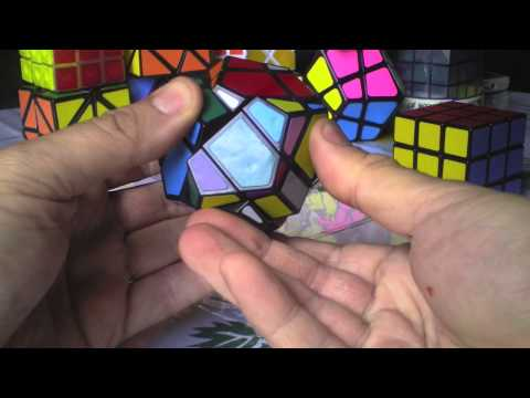 3x3x3 Dodecaedro Tutorial Solución Rubik Cube