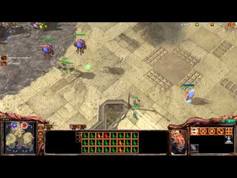 Destiny, Minigun play 2v2 [Game 1] - Starcraft 2 Ladder