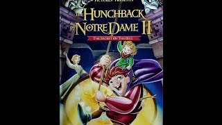 Digitized Opening To The Hunchback Of Notre Dame II (2002