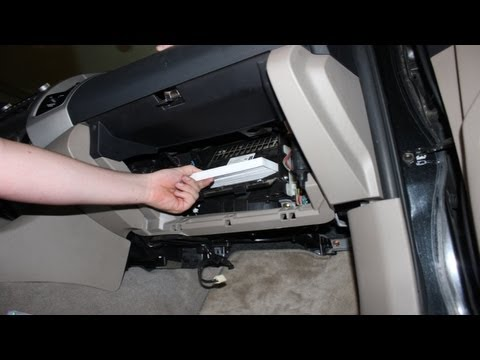How To Replace Your Cabin Air Filter Toyota Tacoma Youtube