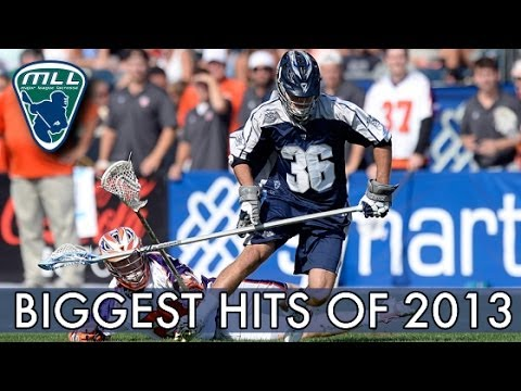 Major League Lacrosse: Biggest Hits of 2013