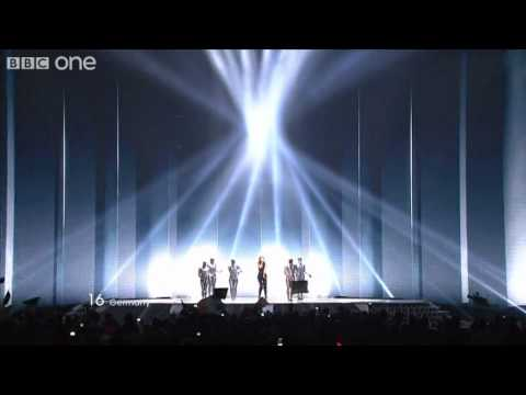 "Germany: ""Taken by a Stranger"", Lena - Eurovision Song Contest Final 2011 - BBC One"