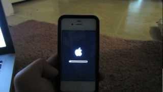iPhone tuş kilidi şifresini unuttum - fabrika ayarları