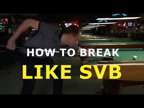 Shane Van Boening Break Technique Analysis by Dr. Dave
