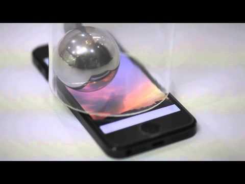[TESLA 102] Anti-Shock Film Strength test video 5S/5