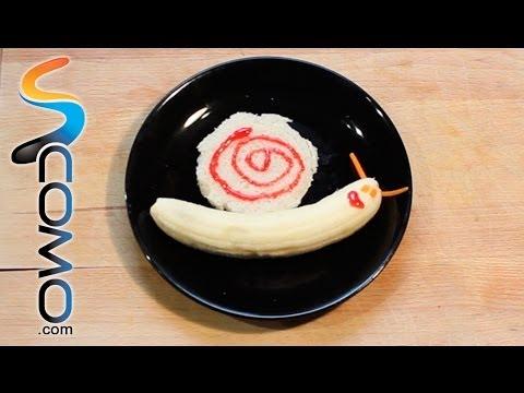 Mira en juntines vídeos de recetas para niños de cocina creativa ...