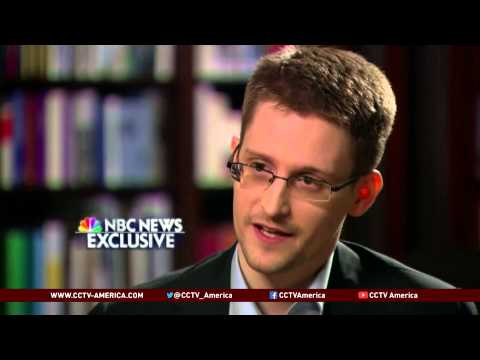 Snowden: I Was a Trained Spy