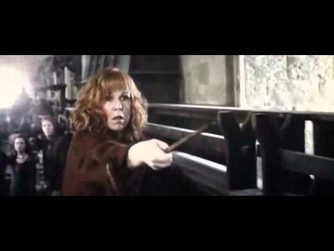 (Deathly Hallows Part 2) Molly Weasley vs Bellatrix Lestrange