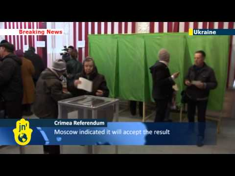 Crimea votes on whether on to join Russia