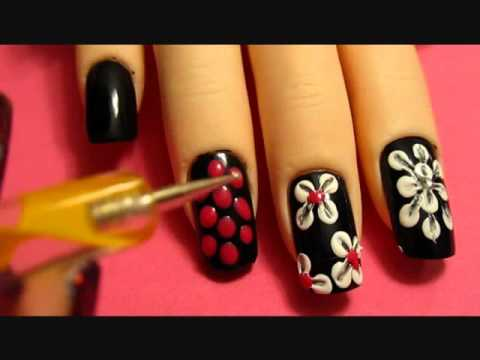 Flower Nail Designs