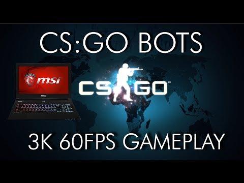 CS:GO Offline against bots?! [60FPS 3K GAMEPLAY]