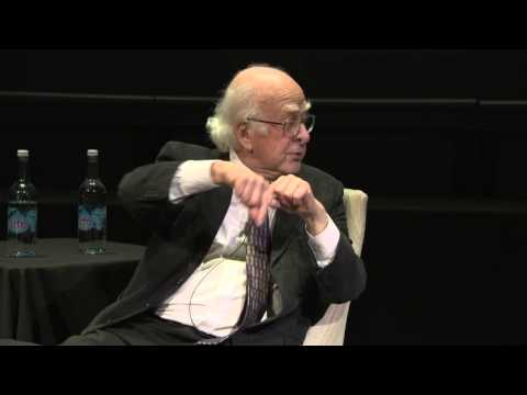 Professor Peter Higgs Q&A at The Science Museum: Higgs Boson (#smCollider)
