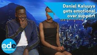Black Panther: Daniel Kaluuya gets emotional over support