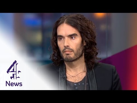 Russell Brand, Jon Snow & 'a wacky version of politics to make me look daft'
