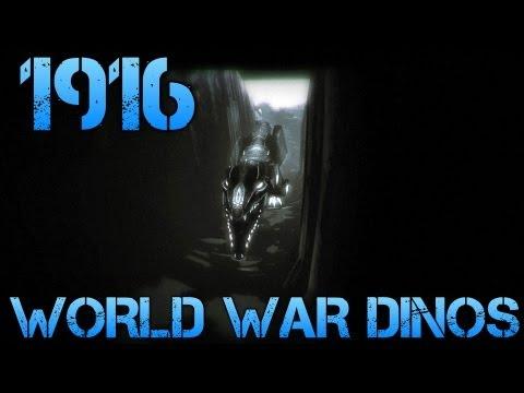 1916 - der unbekannte krieg - WORLD WAR DINOS - Short Indie Game Commentary/Facecam
