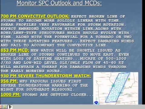 A Meteorological Review of the 2AM Tornado