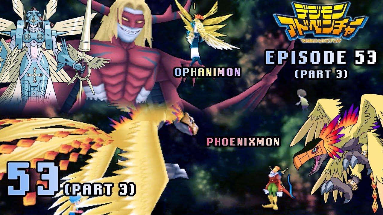 Digimon Adventure PSP - Walkthrough Episode 53 ~ Part 3 ~ Ophanimon ...