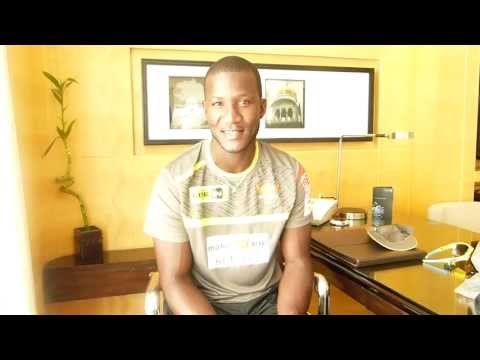 Darren Sammy talks to SunRisers Hyderabad fans