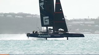 The Insane Tech That Make America's Cup Yachts Fly on Water. Drive Youtube Channel.