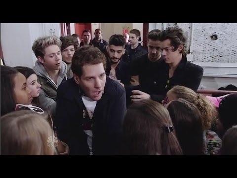 SNL Paul Rudd One Direction Sketch - One Direction's #1 Fan | HD