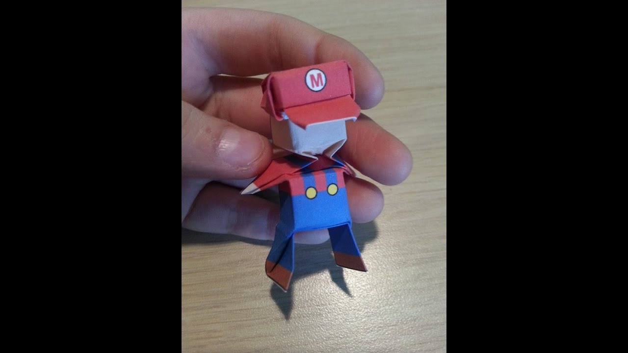 origami mario designed by jo nakashima not a tutorial