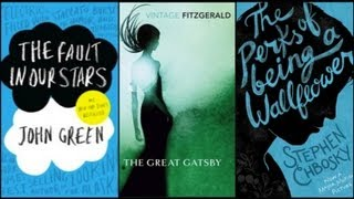Book Reviews: The Fault in Our Stars, The Perks of Being a Wallflower, The Great Gatsby