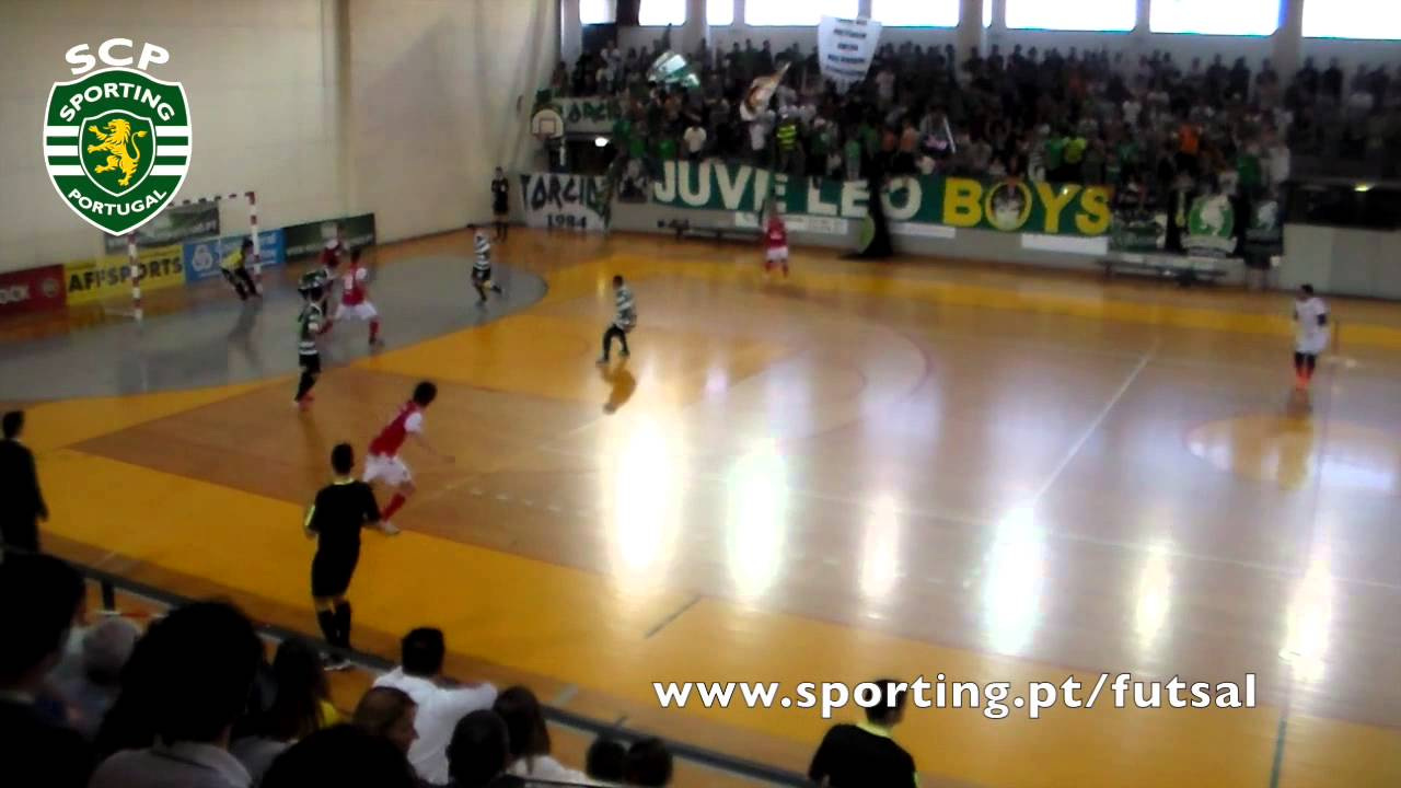 Futsal :: Play-off MF 2º Jogo :: Sporting - 4 x Braga - 3 de 2013/2014